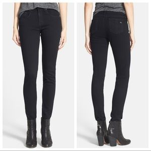 Rag & Bone coal color mid rise skinny jeans SZ 28